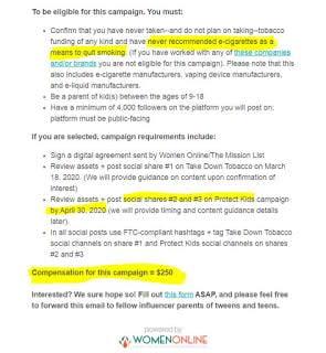 Bloomberg anti-vaping