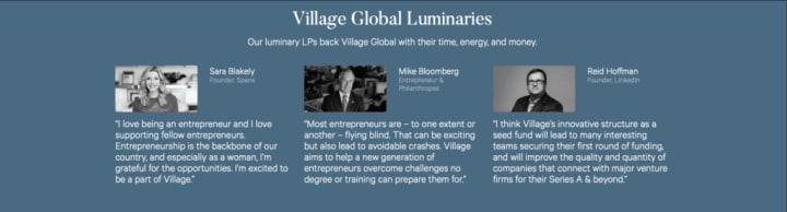 Village Global Leader