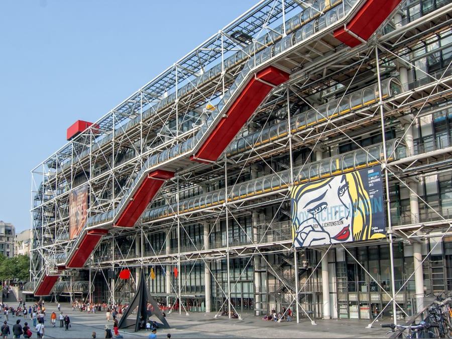 Team Building Cluedo au Centre Georges Pompidou
