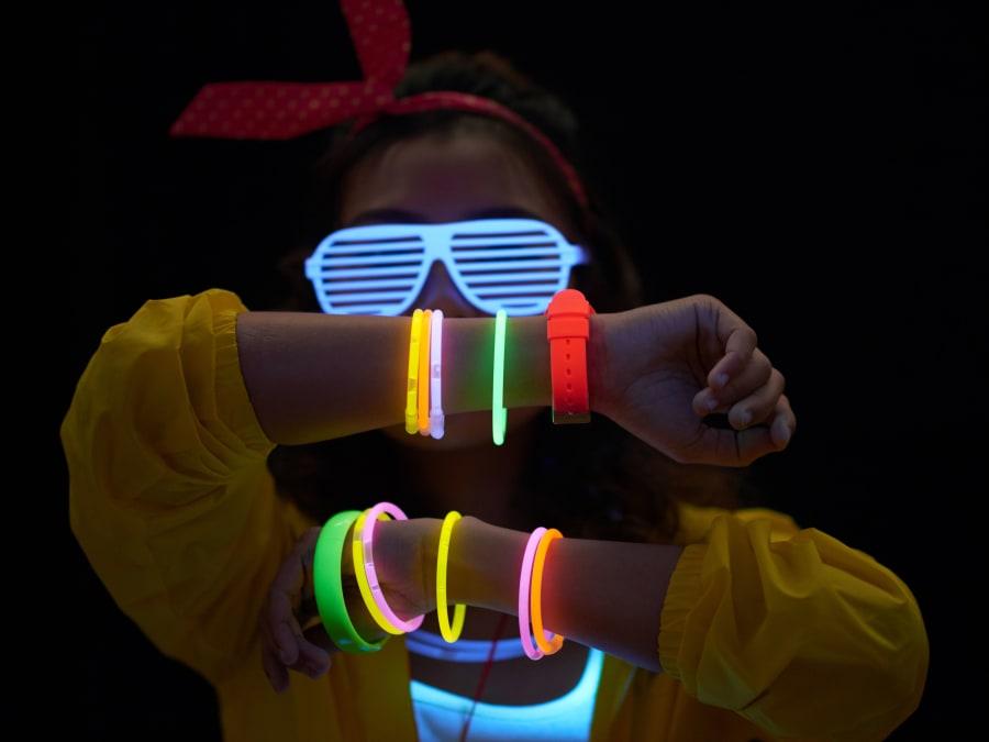 Anniversaire Fluo Party 7-15 ans à domicile