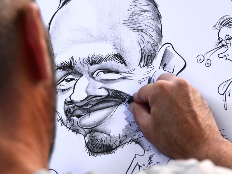 Animation Caricaturiste en Île de France