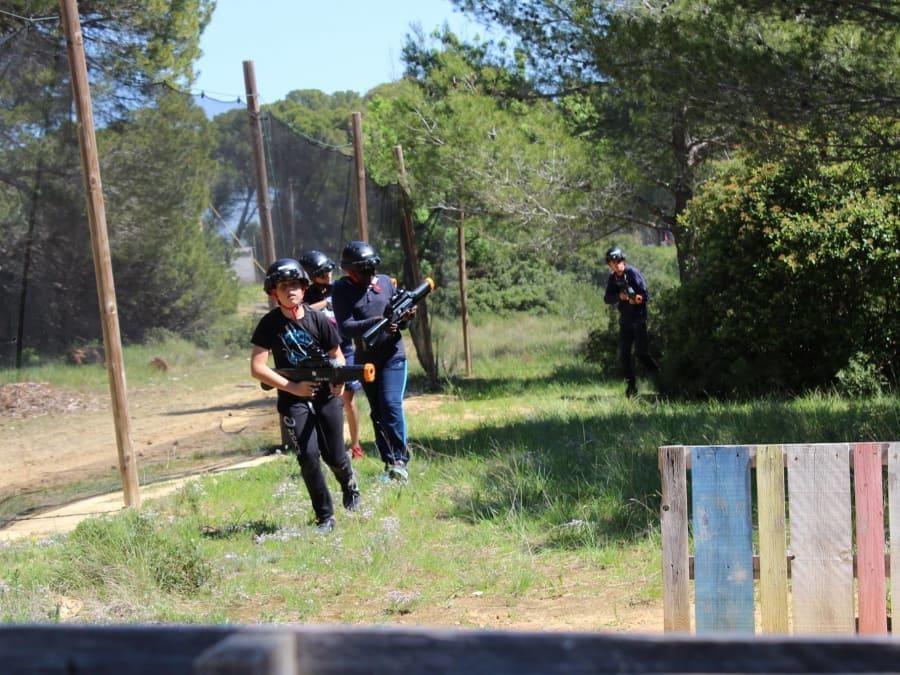 Anniversaire Laser Game 8-14 ans proche de Sète (Hérault, 34)