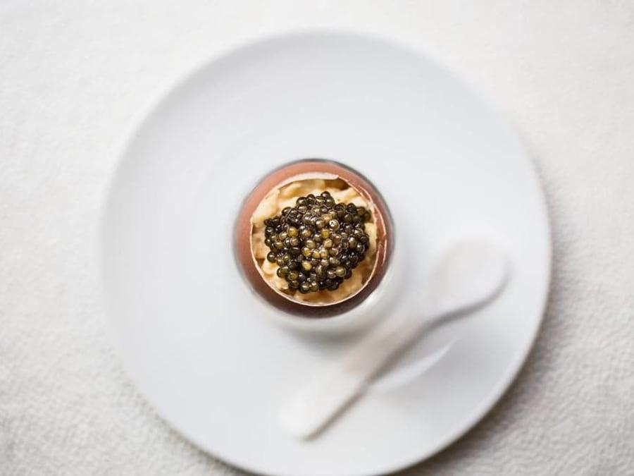Dégustation de caviar Place Vendôme