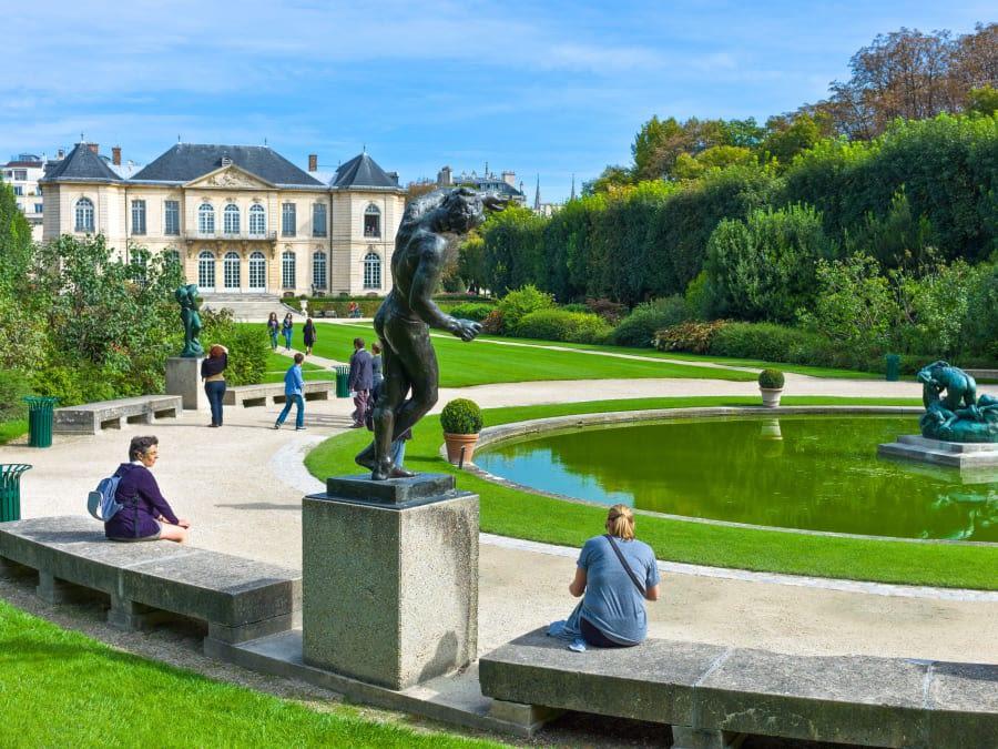 Anniversaire Visite ludique du Musée Rodin à Paris 7ème