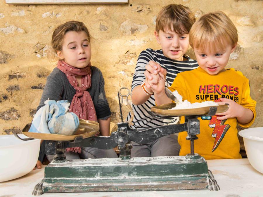 Atelier du pain & animaux de la Ferme de Gally (Sartrouville)
