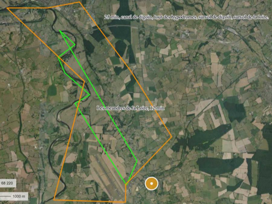 Vol en hélicoptère ULM Biplace - Saint Yan (71)