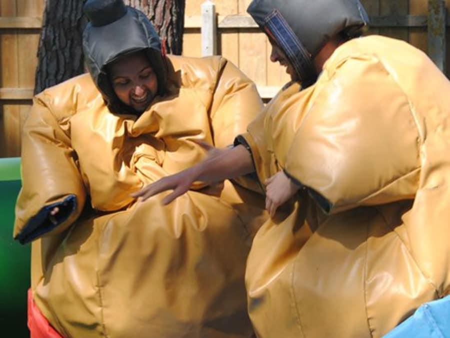 Combat de sumo proche de Bordeaux (Montalivet - 33)