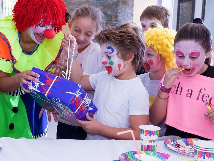 Anniversaire Clown 3-12 ans à domicile (IDF)