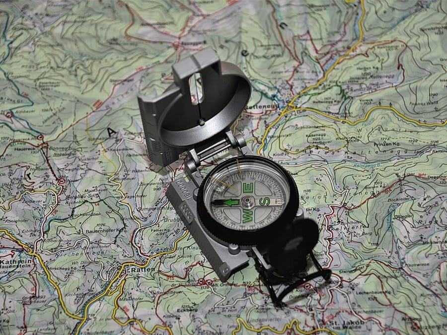 Course d'orientation proche d'Auxerre (Yonne - 89)