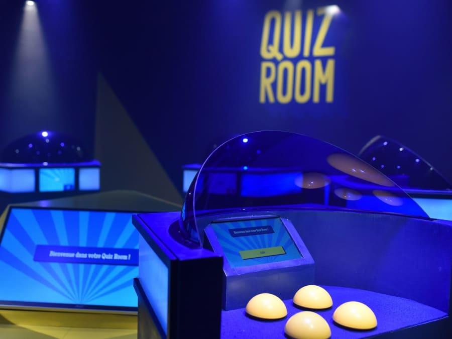Anniversaire Quiz Room 10 à 18 ans Paris 6ème