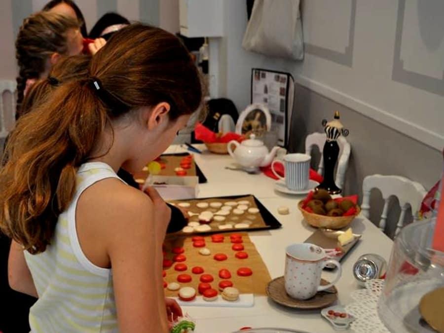 Anniversaire Atelier Macarons 5-14 ans à Paris 17ème