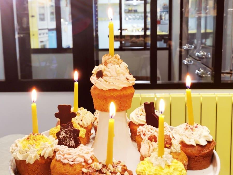 Anniversaire Cupcakes Bio (sécurité Covid) 7-15 ans Paris 11ème