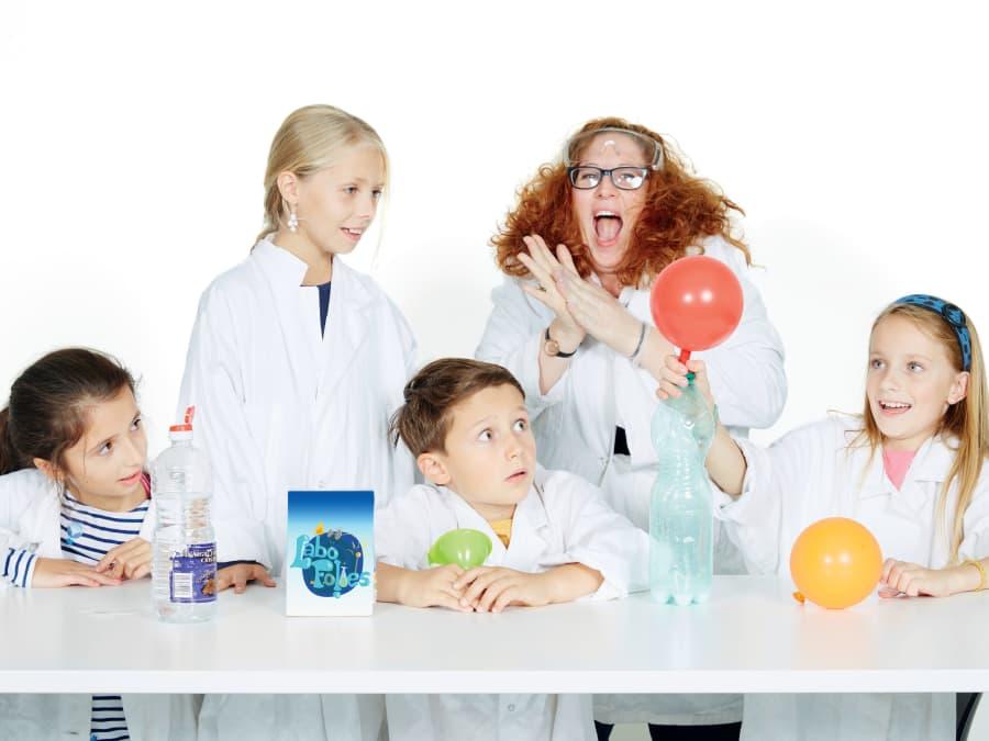 Anniversaire Sciences Labofolies 7-14 ans à domicile
