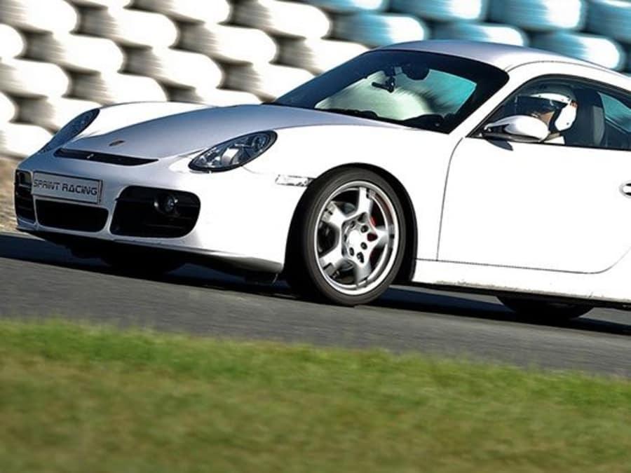 Stage de pilotage en Porsche Cayman S - Folembray (02)