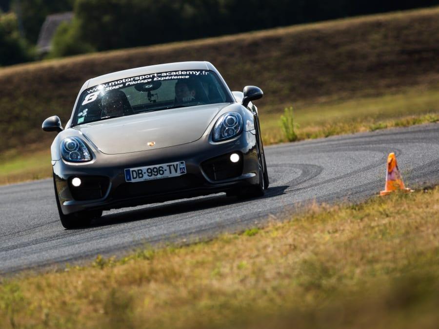 Stage de pilotage Porsche Cayman S - Circuit Fay de Bretagne