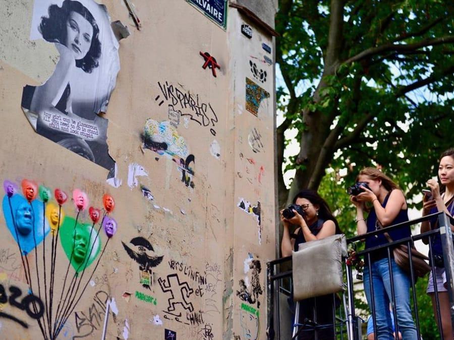 Anniversaire Balade Photo à la Butte aux Cailles à Paris 13