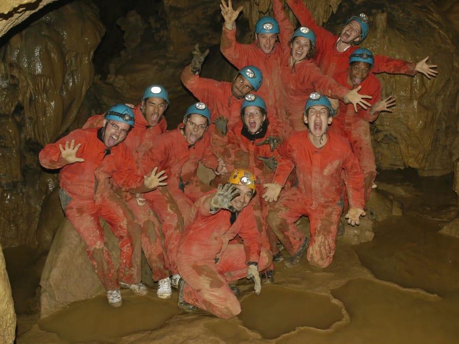 Découverte de la spéléologie : grotte de la Bouhadère (65)