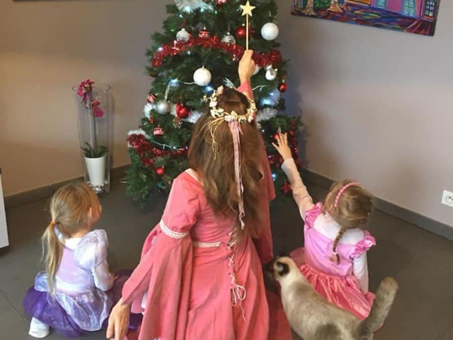 Anniversaire Princesse 3-10 ans à domicile