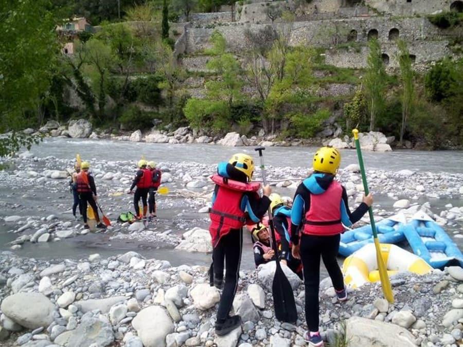 Journée Rafting sur le Var près de Nice (06)