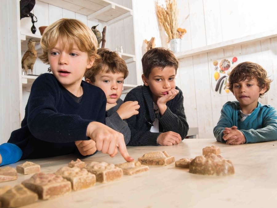 Atelier Empreintes & animaux  Ferme de Gally (Sartrouville)