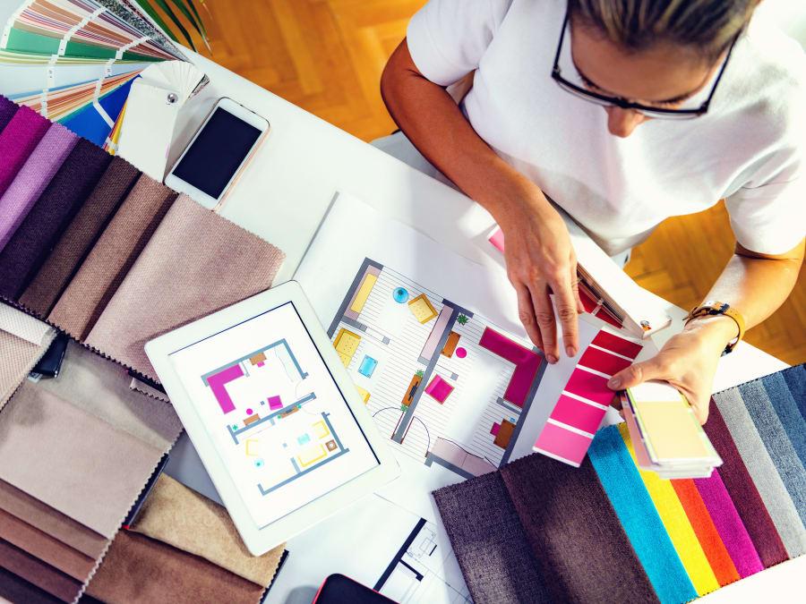 Atelier Décoration d'intérieur : l'utilisation de la couleur