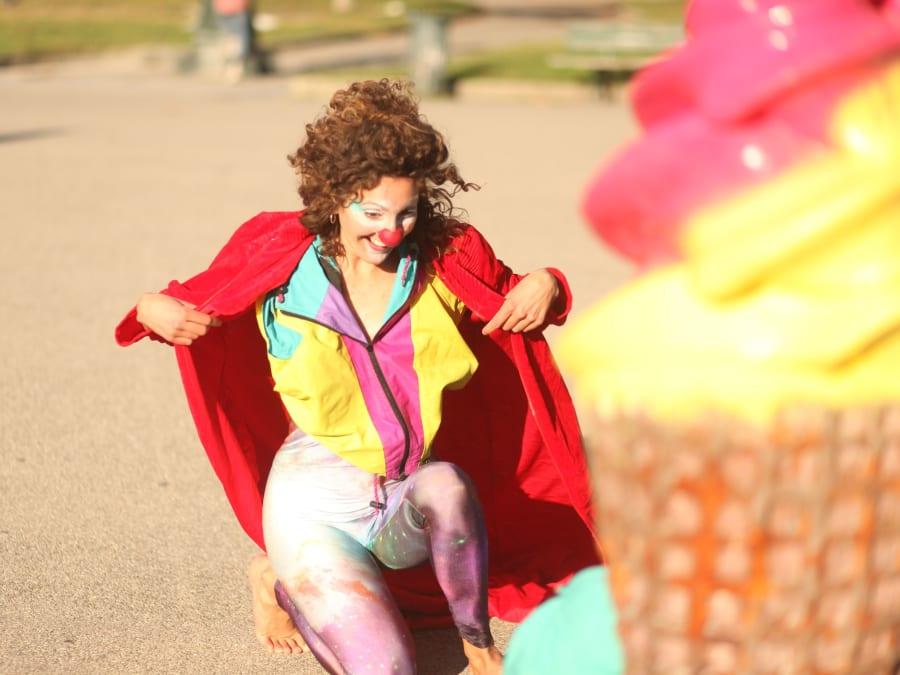 "Anniversaire Clown Cosma ""Rêve ta vie et vis ton rêve !"" (81)"