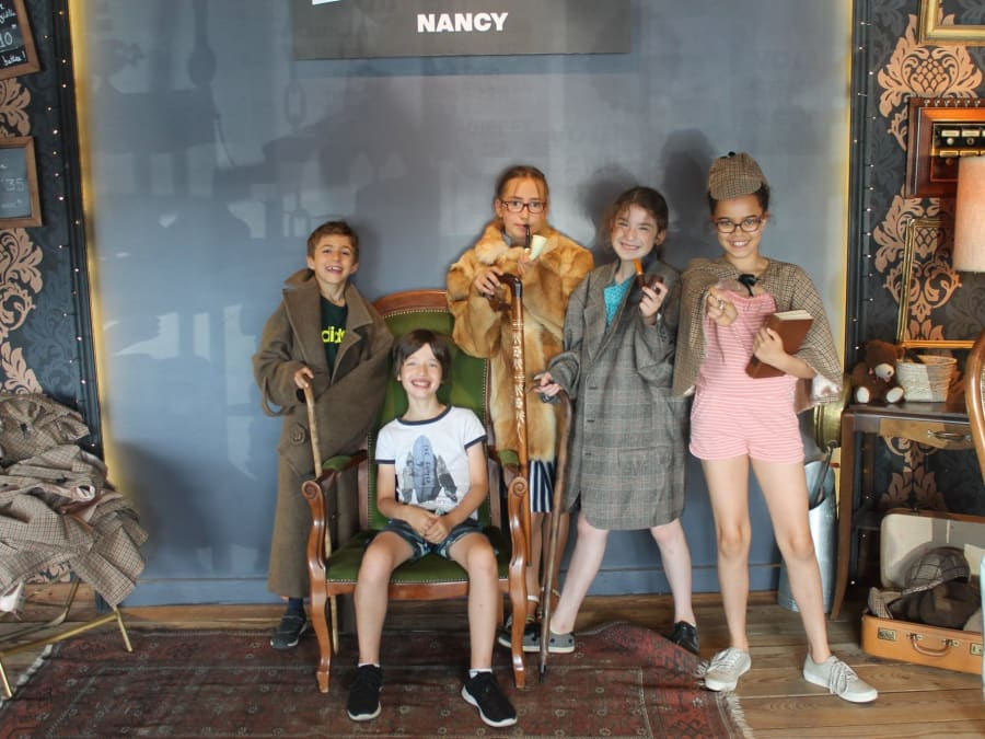 Anniversaire Escape Game dès 10 ans à Nancy (54)