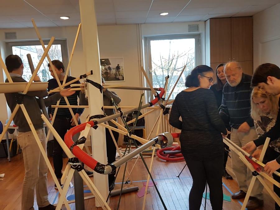 Team Building The Bridge