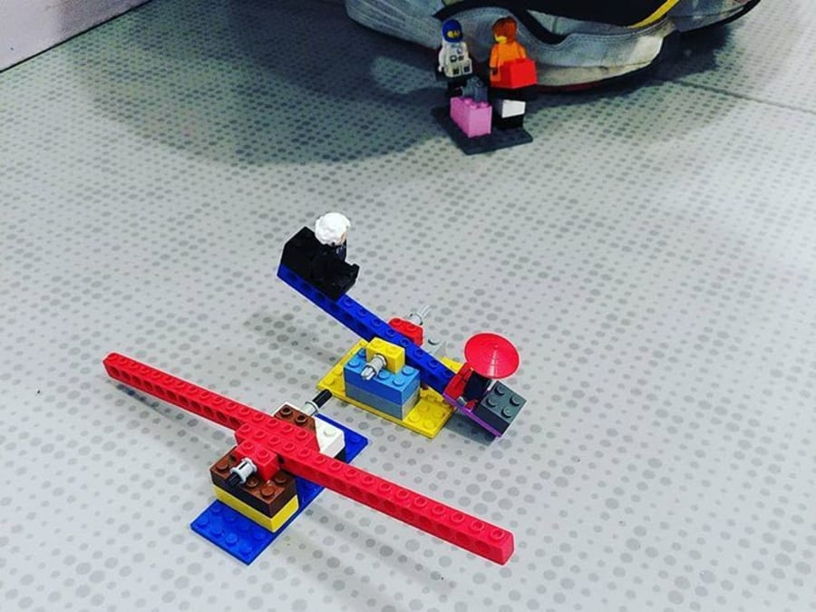 Stage vacances technologique LEGO® à Paris 15ème