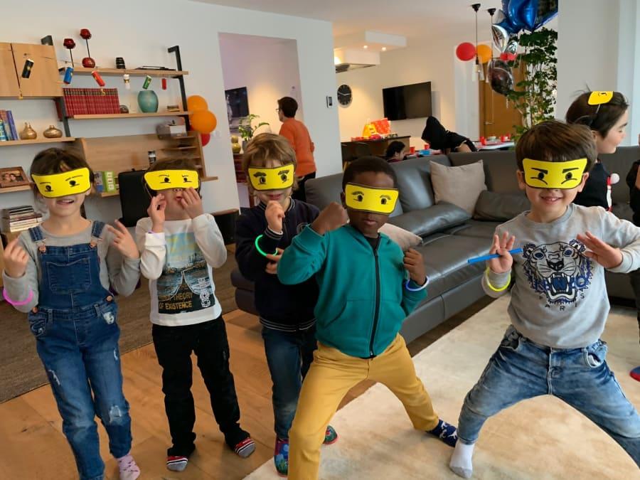 Anniversaire Ninjago 3-12 ans à domicile (IDF)