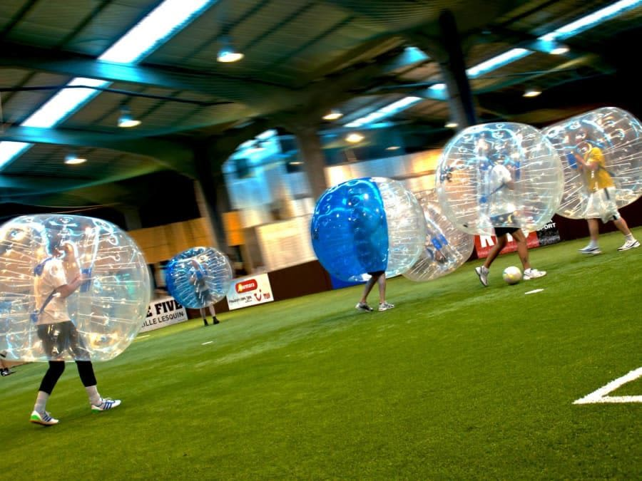 Bubble Foot & Archery Bump à Toulouse (31)
