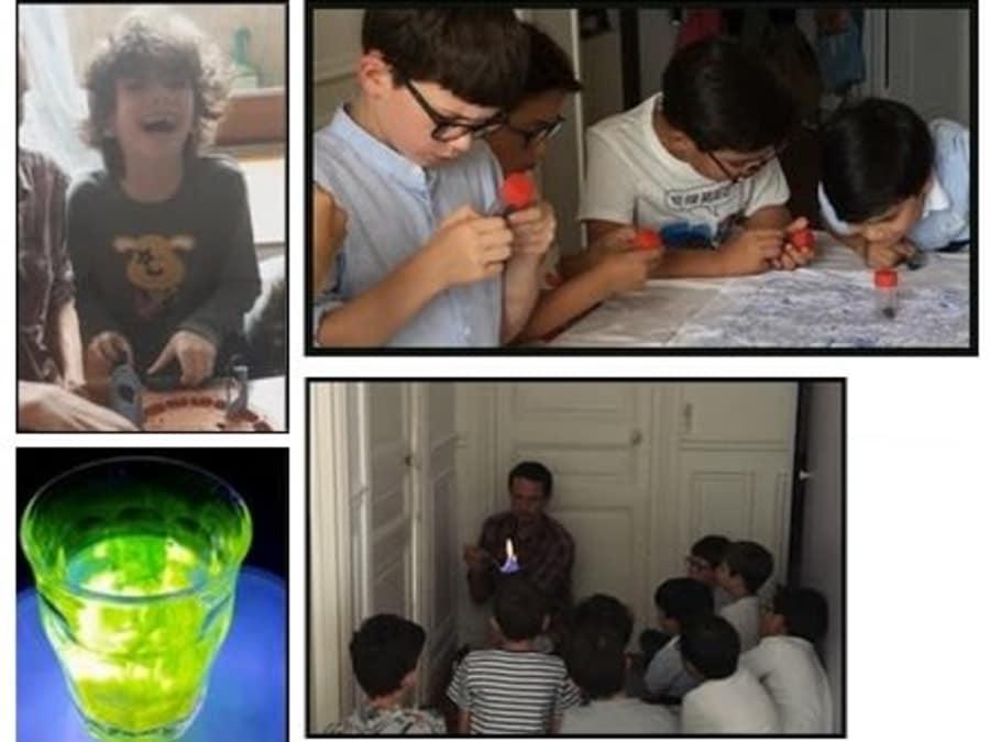 Anniversaire Sciences ludiques - Maître des éléments à domicile