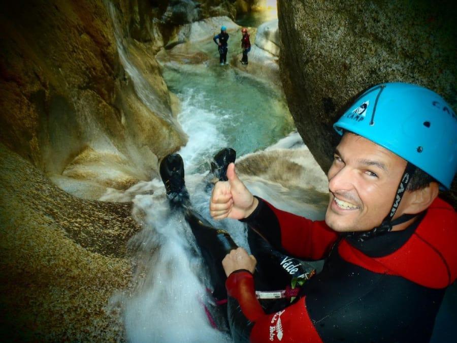 1/2 journée de canyoning dans la Vallée Ossau (64)