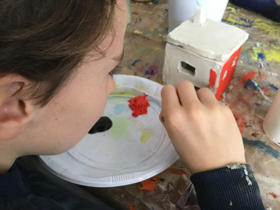Anniversaire Atelier Créatif dans un atelier d'artiste (75015)