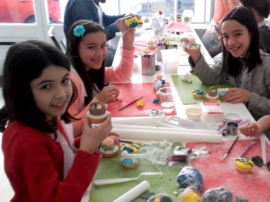 Atelier Cupcake Design Parent/Enfant en plein cœur de Lyon