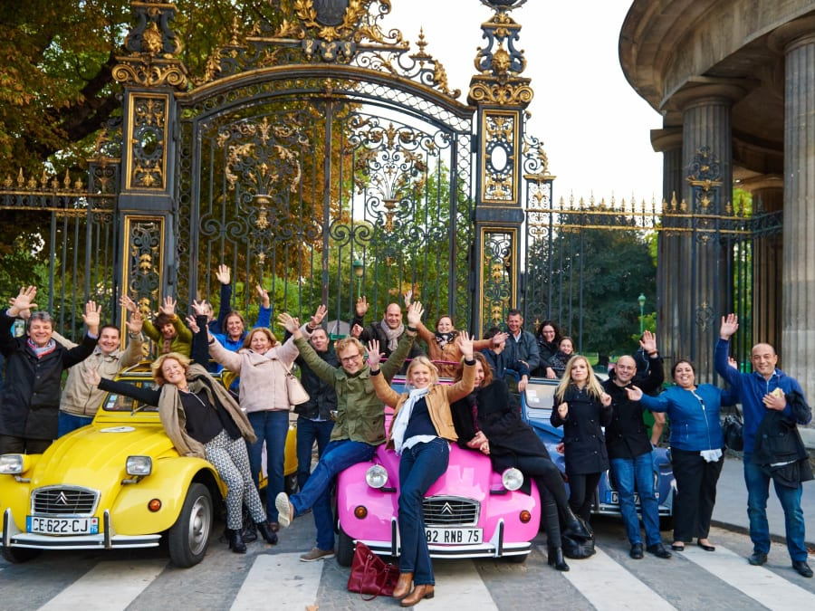 Team Building Rallye à Paris en 2CV