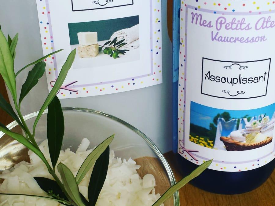 Atelier réalisation de produits ménagers à Vaucresson (92)