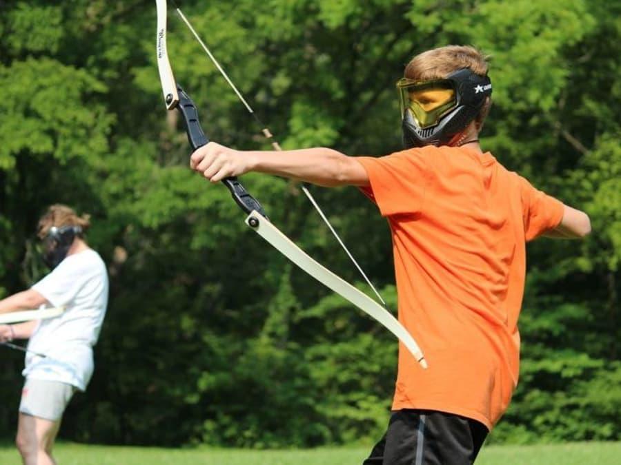 Anniversaire Archery Tag 7-13 ans près d'Aix en Provence (13)