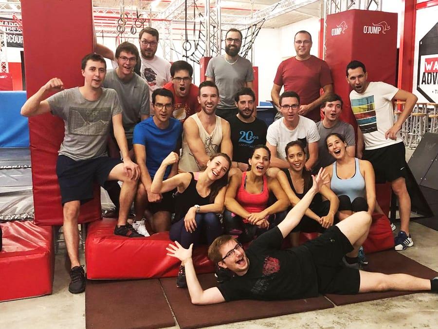 Team Building Parcours Ninja Warrior à Aucamville (31)