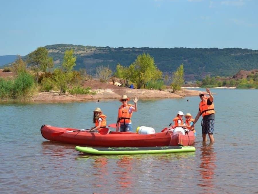Journée Canoé et Paddle dans l'Hérault (Lac du Salagou)
