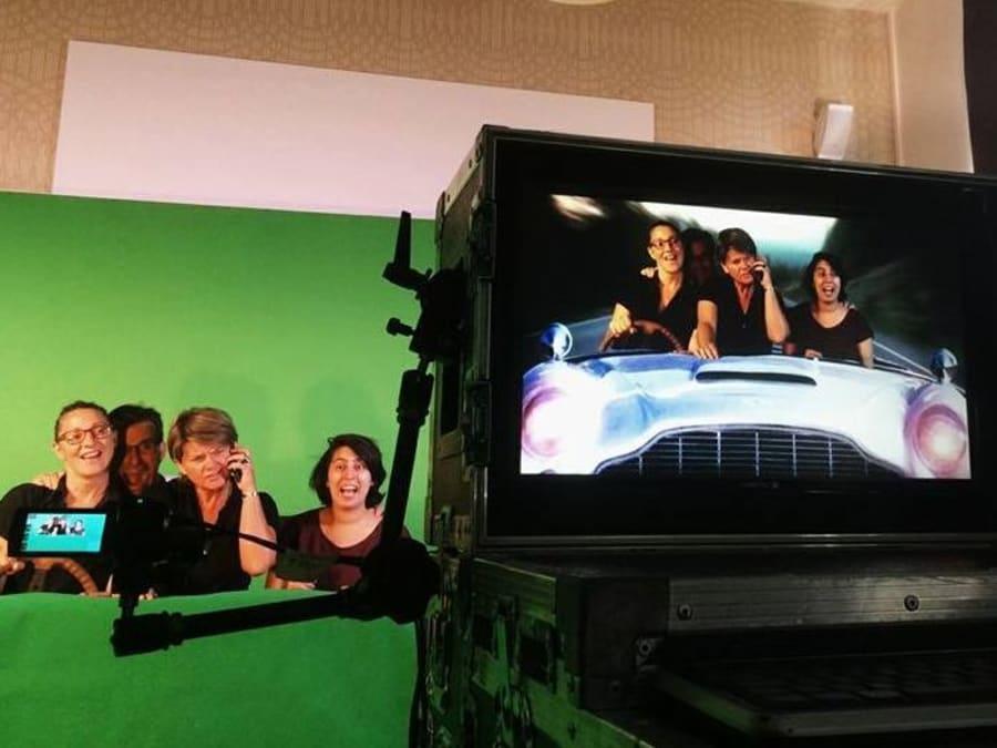 Team Building Cinéma : Magic Green Screen