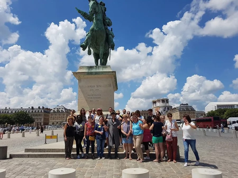 Team Building Dieux cherchent Déesses au château de Versailles