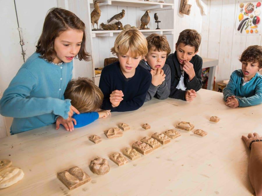 Atelier Empreintes & animaux  Ferme de Gally (St-Cyr-l'Ecole)