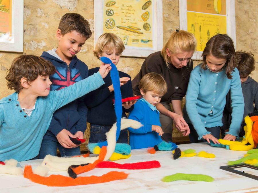 Atelier Laine & animaux  Ferme de Gally (Sartrouville)