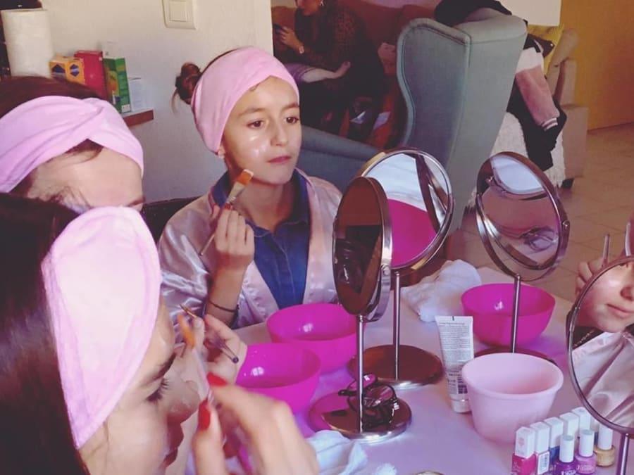 Anniversaire Beauté Party 6-16 ans à domicile