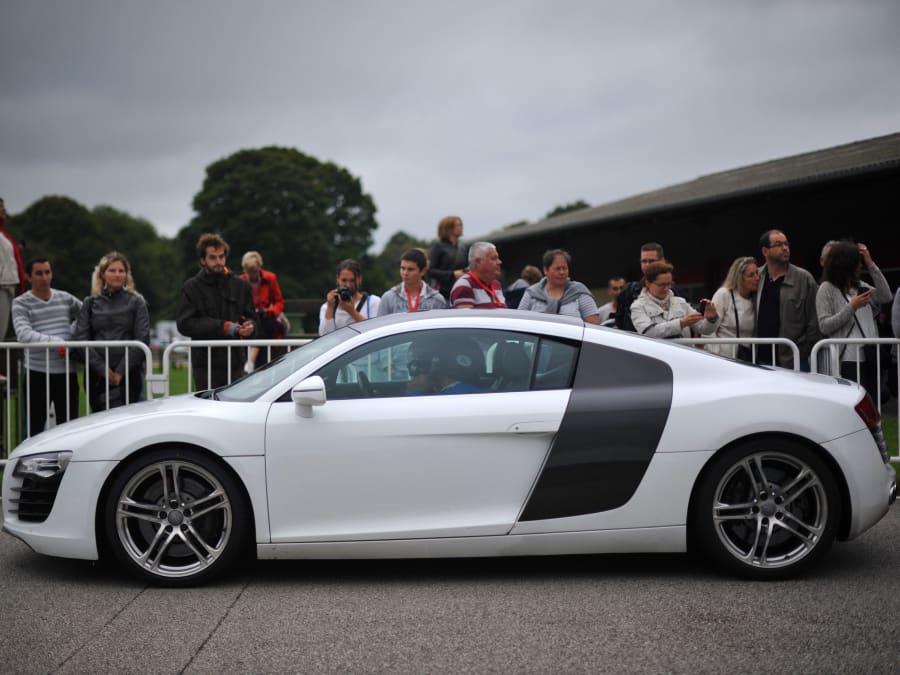Stage de pilotage en Audi R8 - Circuit de Mérignac (33)