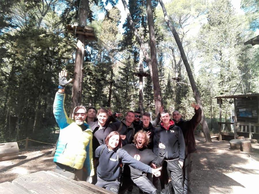 Team Building Accrobranche proche de Sète (Hérault, 34)