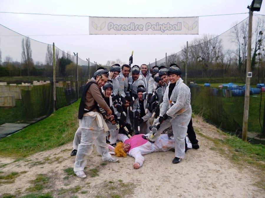 EVG Paintball à Mareuil proche de Meaux (77)