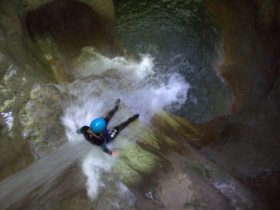 Canyoning Le Pont du diable proche Chambéry (73)