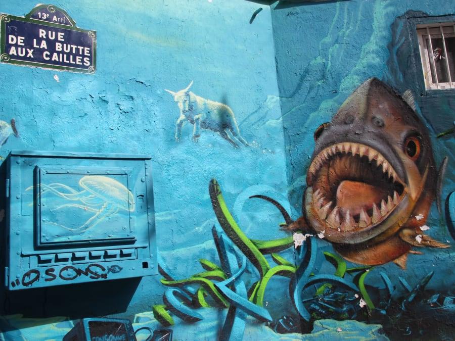 Balade à la Butte aux Cailles entre campagne & street art (13e)
